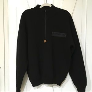 Patagonia 100% Wool Men's Sweater Black